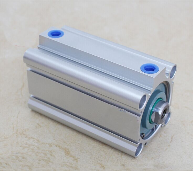 Bore 125mm x55mm stroke SMC compact CQ2B Series Compact Aluminum Alloy Pneumatic Cylinder 2