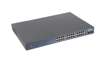 24-Port Gigabit Ethernet Switch su 2 SFP 0